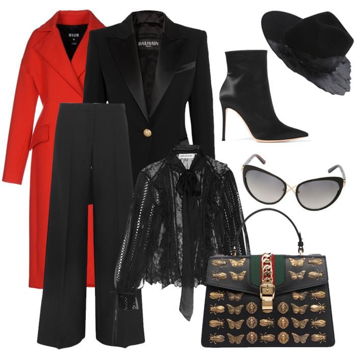 Capi outfit total black budget 10mila euro