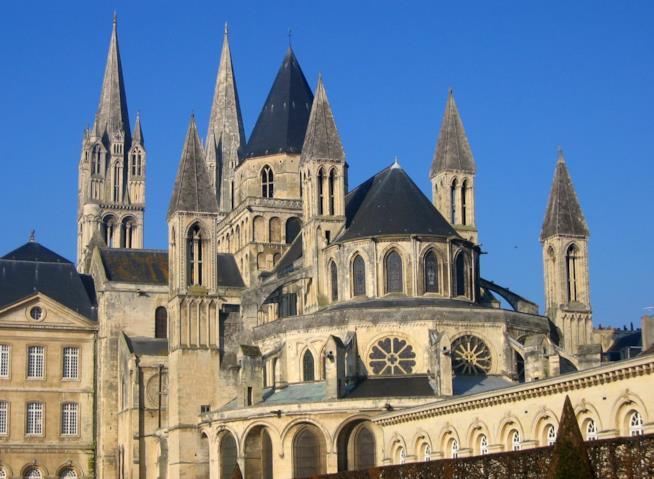 L'abbazia degli uomini e la Chiesa di Santo Stefano di Caen
