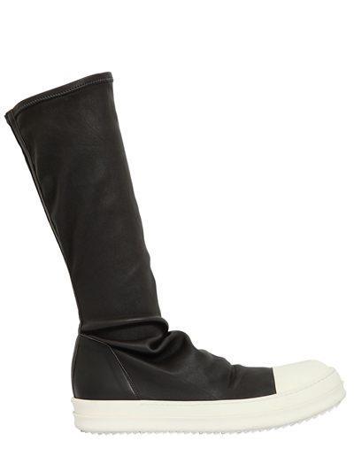 Sneakers effetto calzino Rick Owens per Natale