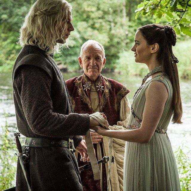 Rhaegar Targaryen e Lyanna Stark nella settima stagione di Game of Thrones
