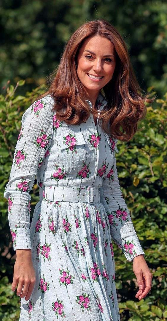 Kate Middleton mezzobusto