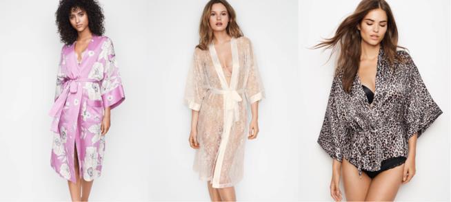 I kimono di Victoria's Secret