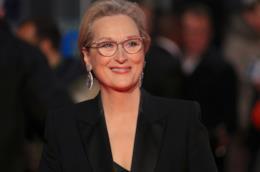 L'attrice Meryl Streep