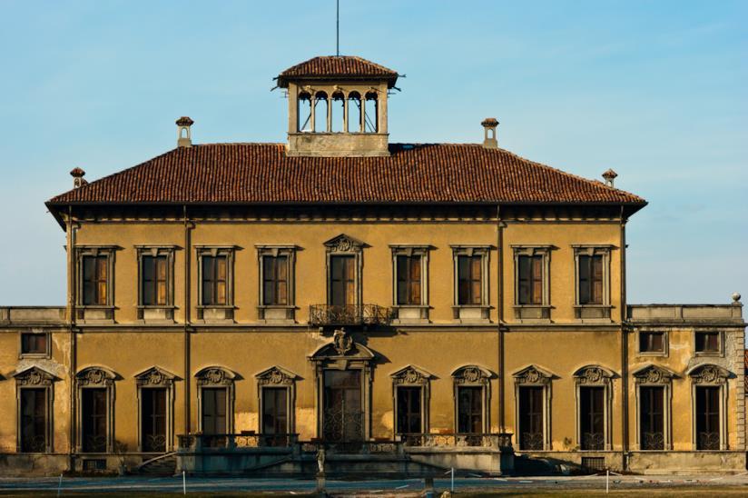 Facciata della Villa Bagatti Valsecchi a Varedo