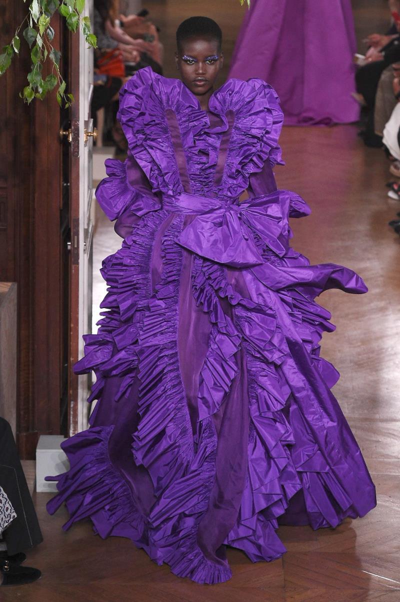 Sfilata VALENTINO Collezione Alta moda Autunno Inverno 19/20 Parigi - ISI_4288