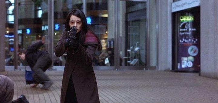 Una immagine del film Ballistic con Lucy Liu e Antonio Banderas