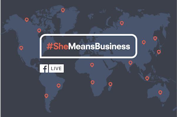 #SheMeansBusiness, un progetto globale a sostegno delle donne
