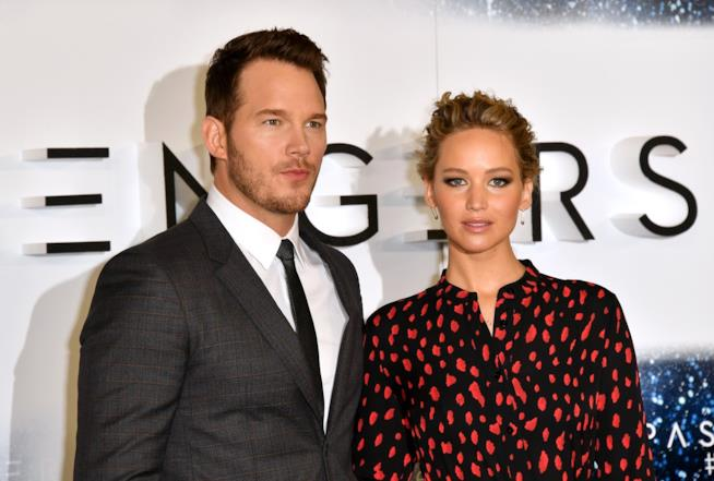 Jennifer Lawrence e Chris Pratt insieme