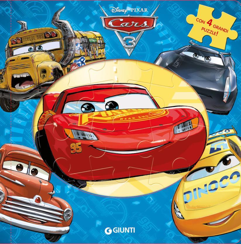 Libro puzzle Cars 3