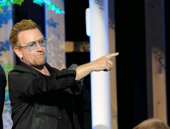 Il frontman degli U2 Bono