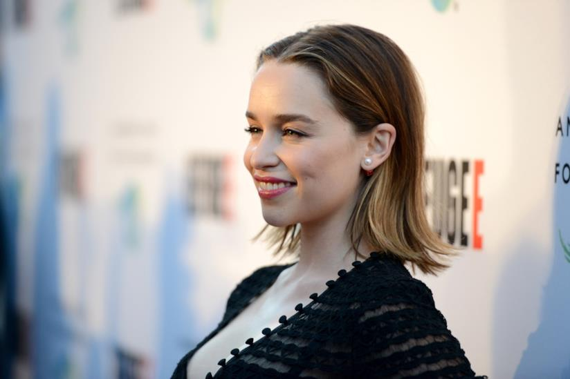 Emilia Clarke sul red carpet