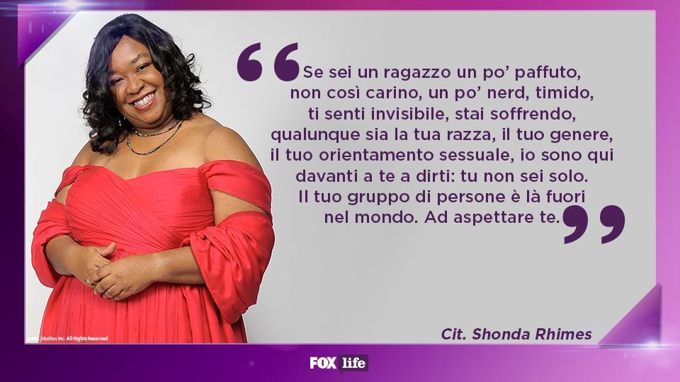 Le citazioni più commoventi di Shonda Rhimes