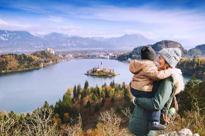 Vacanza al lago Bled in Slovenia con la famiglia