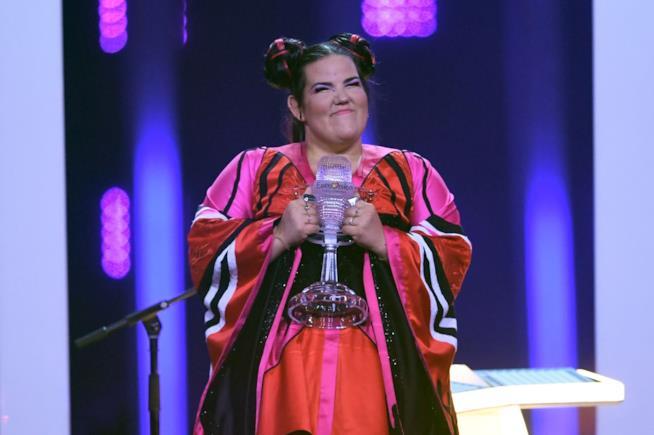 Netta Barzilai premiata all'Eurovision Song Contest 2018