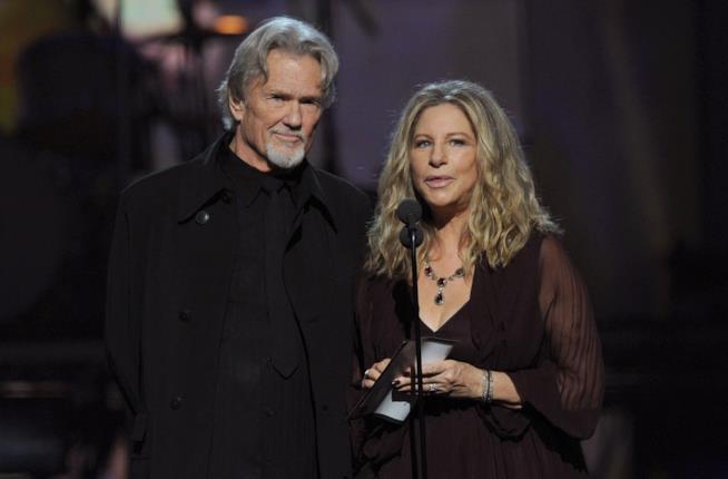 Barbra Streisand e Kris Kristofferson