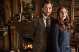 La prima foto ufficiale di Brianna e Roger per Outlander 2