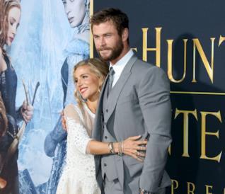 Elsa Pataky e Chris Hemsworth