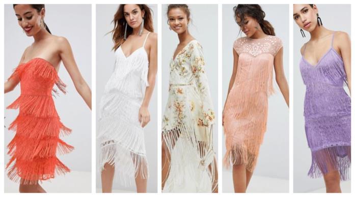 Con le frange, i vestiti ispirati a Kesha moda P/E 2018