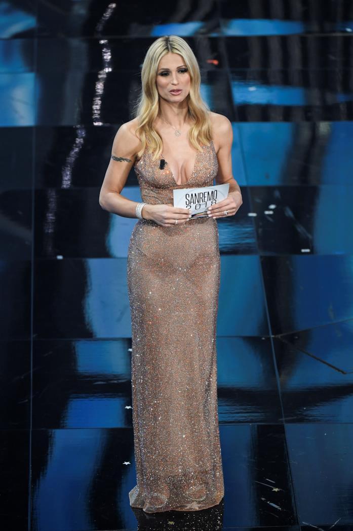 Michelle Hunziker, finale Sanremo 2018