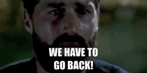 Jack dice di tornare indietro