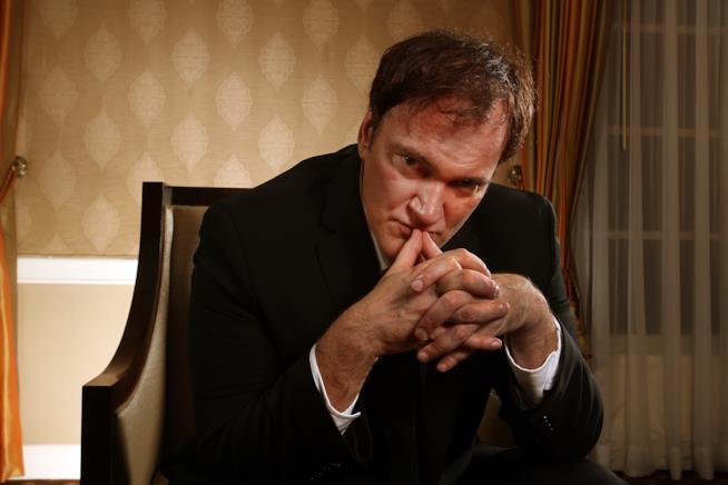 Quentin Tarantino, regista di cult quali Pulp Fiction e Le iene