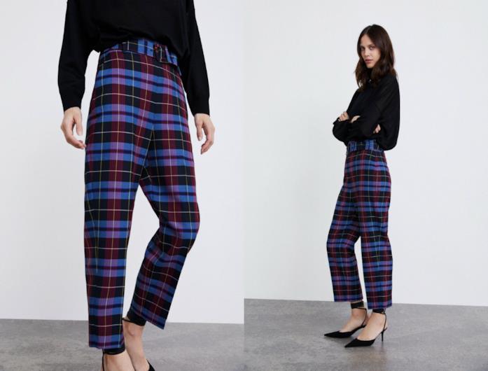 A quadri, i pantaloni di tendenza