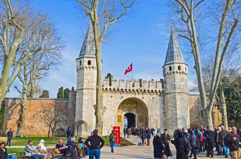 La Porta dei Saluti, ingresso del Palazzo Topkapi
