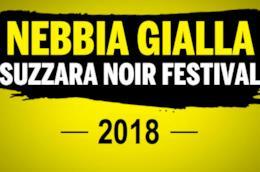 La locandina della 12a edizione del NebbiaGialla Suzzara Noir Festival