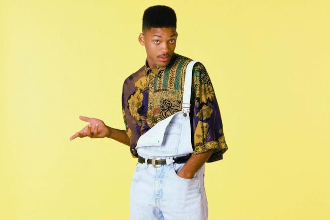 Will Smith in versione anni '90 protagonista di Willy, il principe di Bel-Air