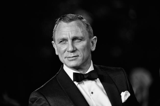 Daniel Craig sul red carpet di Skyfall