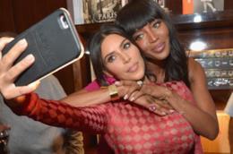 Kim Kardashian e Naomi Campbell