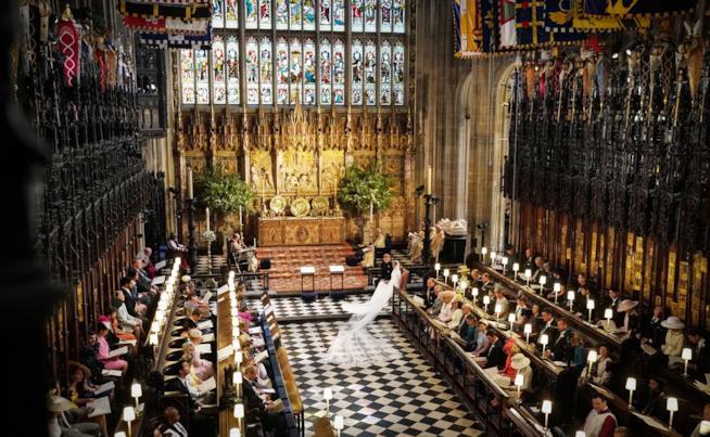 La cappella di St. George a Windsor
