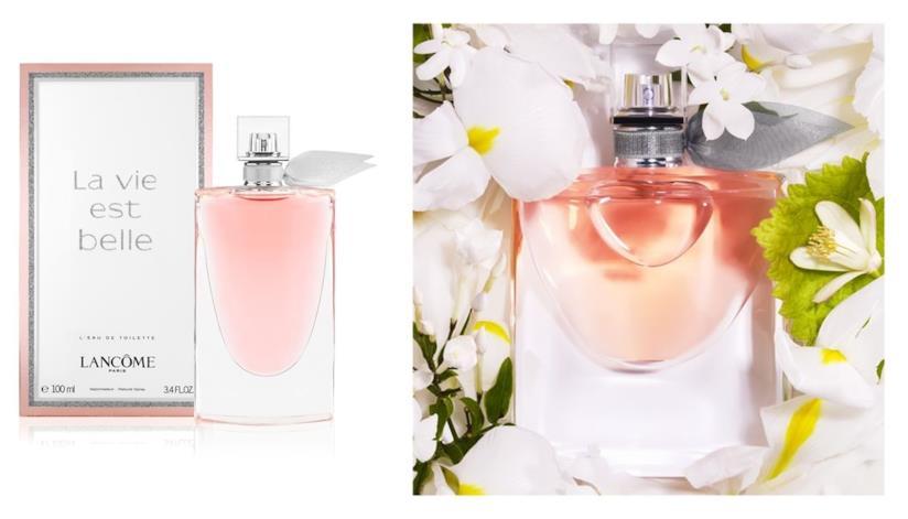 La vie est belle nella versione eau de parfum ed eau de toilette