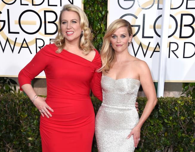 Cheryl Strayed e Reese Whiterspoon ai Golden Globe