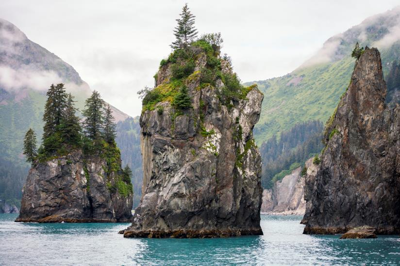 Gli spettacolari Kenai Fjords
