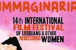 """Cover del Festival internazionale del cinema delle donne """"Immaginaria"""""""