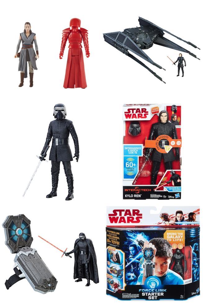 Action Figures Hasbro con i personaggi de Gli ultimi jedi