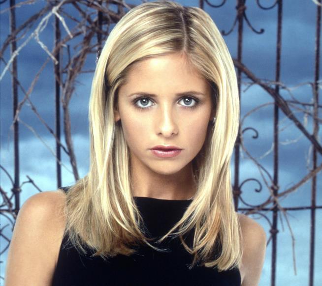 Buffy in primo piano