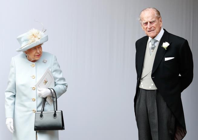 Elisabetta II e Principe Filippo in una foto insieme