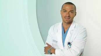Jesse Williams nei panni di Jackson Avery in Grey's Anatomy