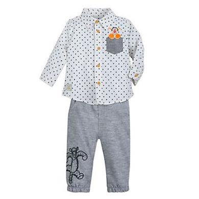 Completo camicia e pantaloni Tigro