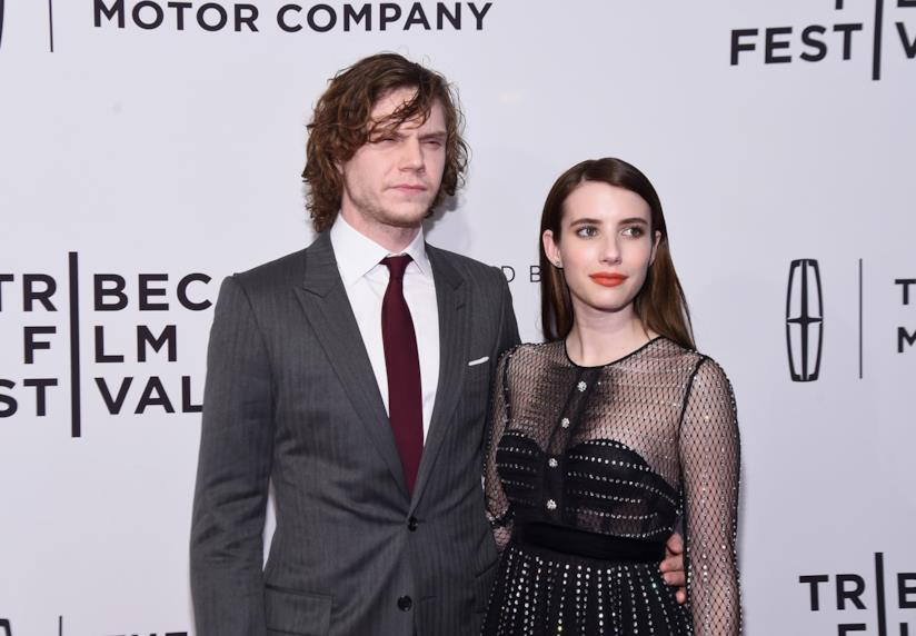 Evan Peters ed Emma Roberts