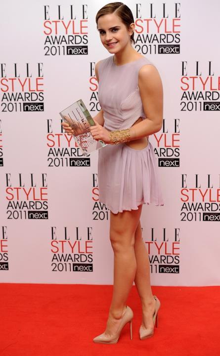 Uno dei look sfoggiati da Emma Watson nel 2011