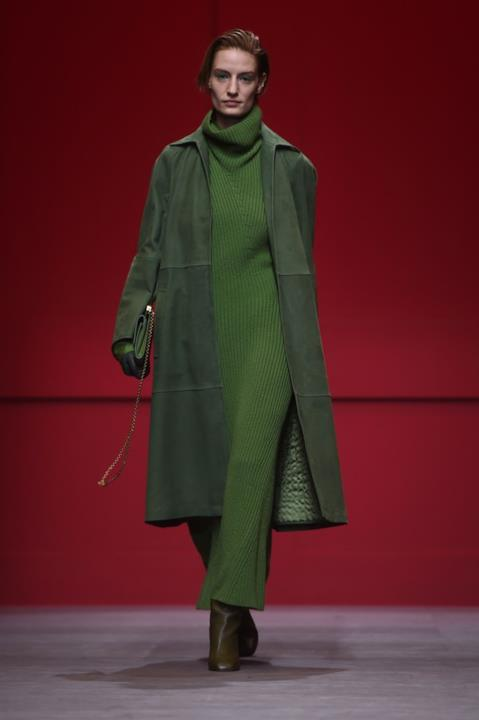Total green in verde per Salvatore Ferragamo 2091c09be92