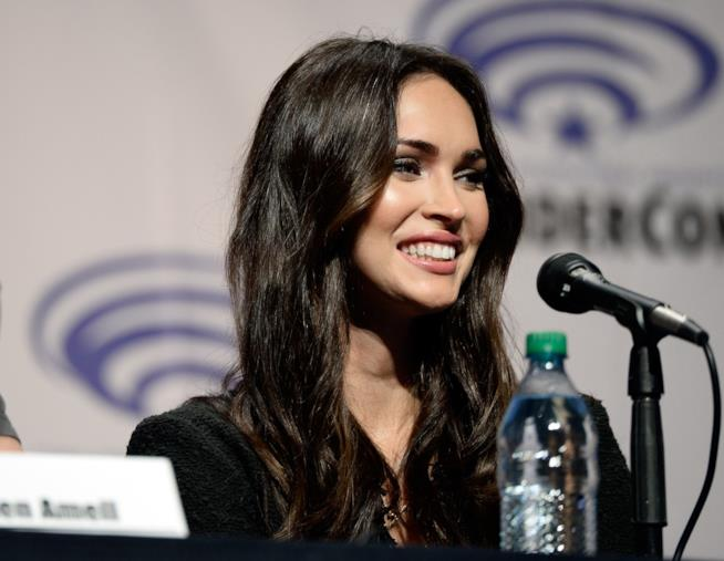 Una sorridente Megan Fox