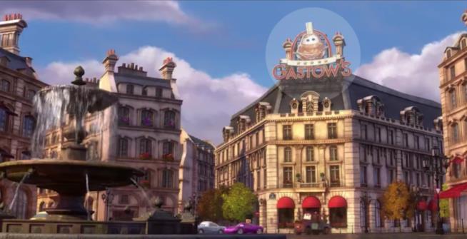 Gastow's, scena tratta da Cars della Disney Pixar