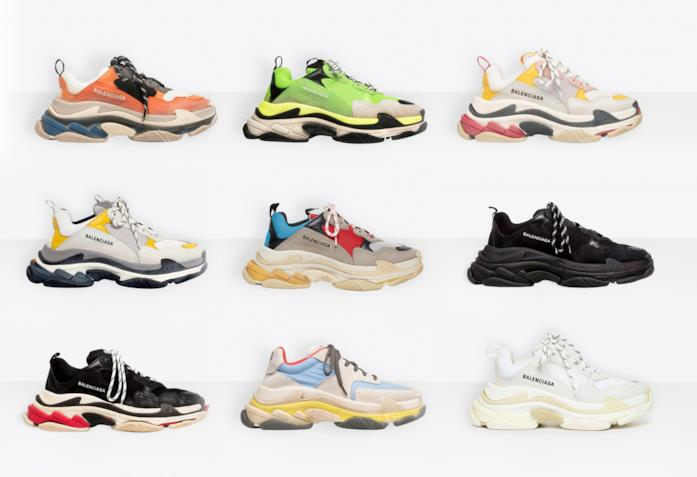 goditi la spedizione in omaggio scarpe casual seleziona per ufficiale Balenciaga Triple S: le sneakers da avere subito