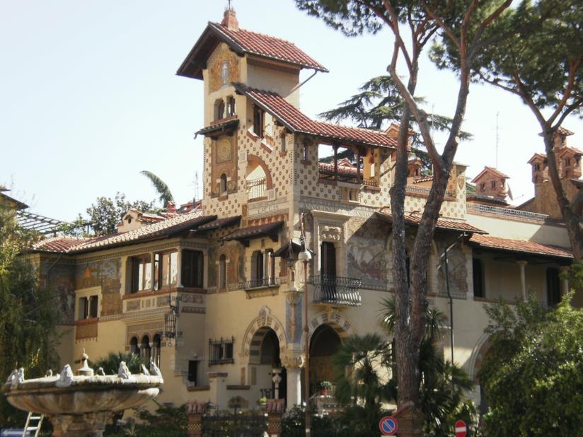 Una casa del Quartiere Coppedè