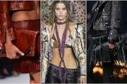 Abiti e accessori in pelle moda P/E 2018