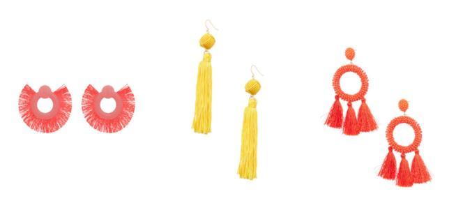 Collage di orecchini estivi Primark